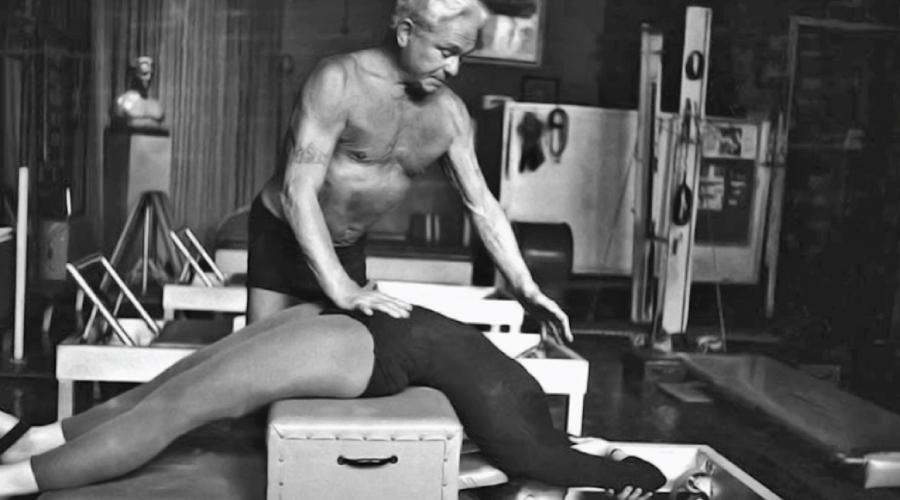 Joseph Pilates ageing
