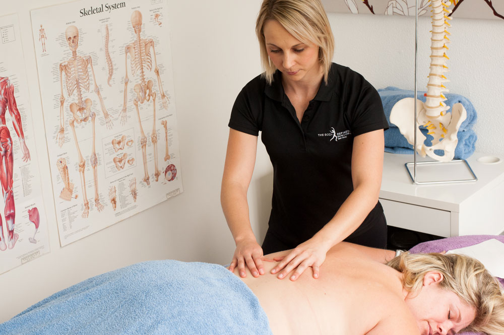 Remedial massage - The Body Refinery - Brisbane