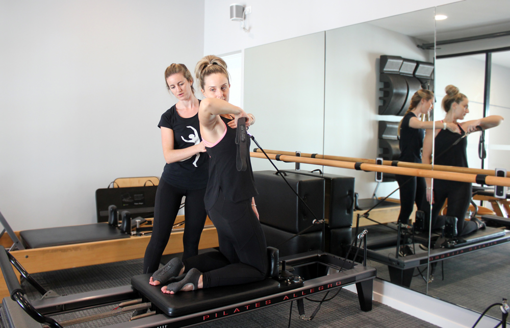 The Body Refinery Pilates studio clinical pilates