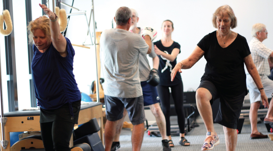Exercise – an integral part of the management of Parkinson's disease.
