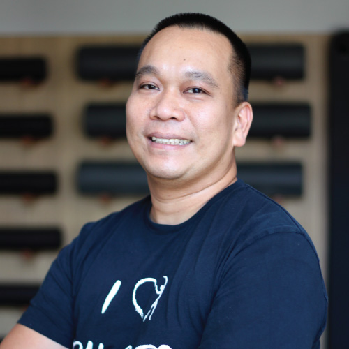 Rodney Wenceslao Physiotherapist team