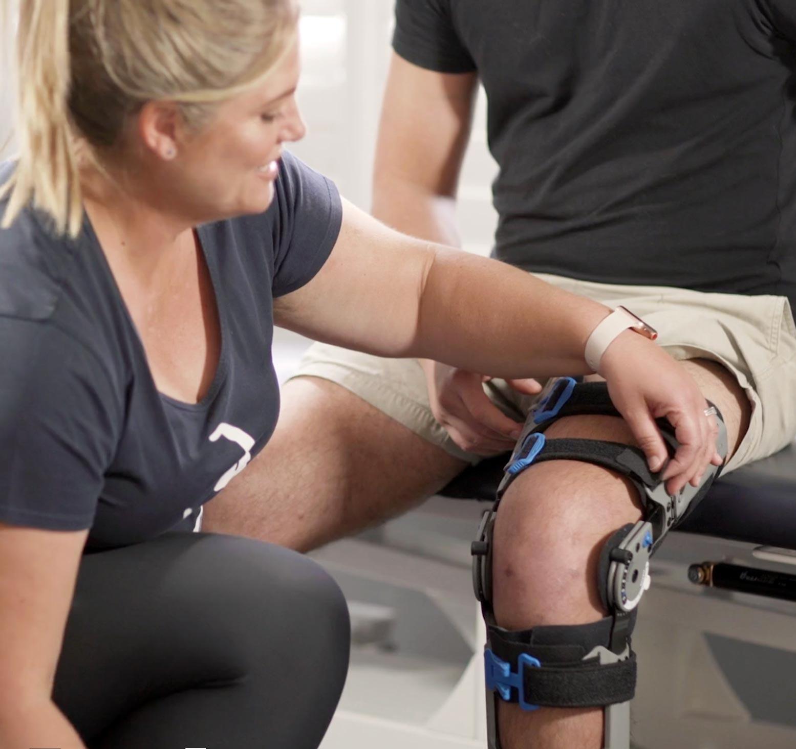 knee rehabilitation physiotherapy